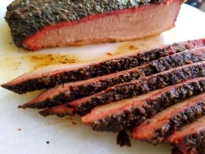 Franks Backyard BBQ Brisket Cedar Lake Indiana