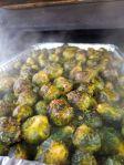 Franks Backyard BBQ Smokey Brussels Sprouts Cedar Lake Indiana