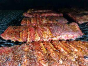 Franks Backyard BBQ St Louis Spare Ribs Cedar Lake Indiana