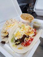 Franks Backyard BBQ Cedar Lake Indiana Tacos w Smokey Corn