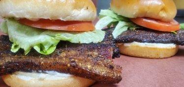 Franks Backyard BBQ Cedar Lake Indiana BLT Sandwich