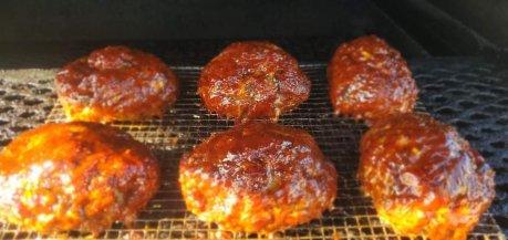 Franks Backyard BBQ Smoked Meat Loaf Cedar Lake Indiana